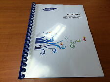 SAMSUNG GALAXY ACE PLUS GT-S7500 PRINTED INSTRUCTION MANUAL GUIDE 158 PAGES A5