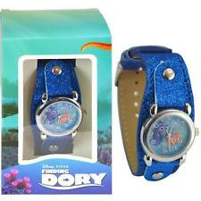 Disney Finding Dory Watch with Metal Face and Blue Glitter Band! Great Quality