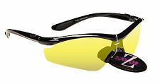 RayZor Professional Uv400 Light Enhancing Sports Wrap Sunglasses RRP$89.00