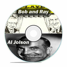 Bob and Ray Show, Al Jolson, All Known 1,207 Old Time Radio Shows MP3 DVD F81