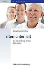 Elternunterhalt von Gisela Lindemann-Hinz (2016, Taschenbuch)