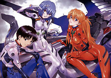 Poster A3 Evangelion Asuka Rei Shinji 02