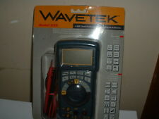 Wavetek Model 220 Professional Digital/Analog Multimeter, DMM, Ham Radio