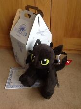 BNWT Build A Bear Toothless  (How to train your dragon )