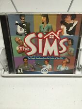THE SIMS 1 ORIGINAL PEOPLE SIMULATOR! PCCD! W/ARTWORK IN JEWEL CASE! L@@K!