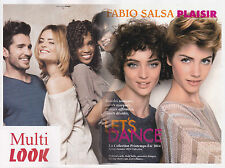 FABIO SALSA COIFFURE FRENCH HAIRCUT FASHION PRINTEMPS ETE 2014 MAG REVUE