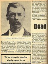 Colorado Gold Prospectors-Cleator, McDonald - Dead Man