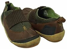 Merrell Montreal Chestnut Leather/Wool Stretch Strap Slip On Flats Shoe Womens 8