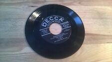 "7"" Pop Bing Crosby - McNamara's Band / Dear Old Donegal (2 Song) DECCA disc only"