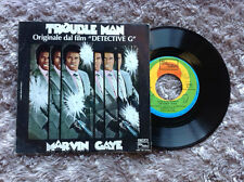 "MARVIN GAYE / TROUBLE MAN (original soundtrack) - 7"" (Italy 1972) EX-/EX-- RARE"