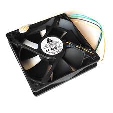Ventilateur Delta Electronics 120x120x25MM AFB1212SH 12V0.80A 4 fils 12x12x2.5CM