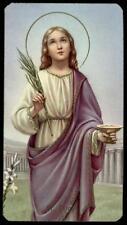 """santino-holy card""""""""ediz. FB serie 400 n.198 S.LUCIA V.M."""