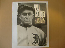 """""""Ty Cobb"""" - Biography - By Charles C. Alexander - Hardcover - Used - 1984"""
