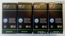 Husqvarna TC449 / TE449 / TE511 (2011 to 2014) HifloFiltro Oil Filter HF611 x 4