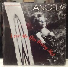 """[EDM]~SEALED 12""""~ANGELA~Love Me (For Being Me)~[x7 Mixes]~[OG 1990 WB Issue]~"""