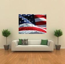 AMERICAN FLAG STARS STRIPES NEW GIANT POSTER WALL ART PRINT PICTURE G309