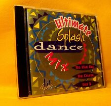 CD Ultimate Splash Dance Compilation Mix 6TR 1997 Euro House RARE !