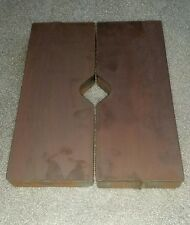 "20 TON STEEL SHOP PRESS BED PLATE Parallels V Block Arbor 1""X 4""X 10"" Straighten"
