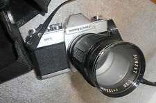 Mamiya / Sekor 500TL film camera with lens