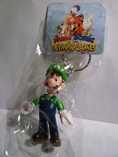 Super Mario Figures Key Ring Chain PORTACHIAVI SUPER MARIO LUIGI
