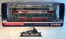"CORGI OOC ~ OM46616A - NEW ROUTEMASTER GO-AHEAD LONDON ""LIVERPOOL STREET"" NEW"