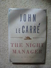 John Le Carre  SIGNED    The Night Manager  US HC 1st/1st