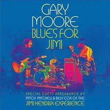 GARY MOORE CD - BLUES FOR JIMI (2012) - NEW UNOPENED - ROCK BLUES