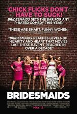 Bridesmaids  - original DS movie poster  D/S 27x40 FINAL