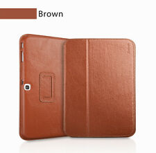 """Executive Real Leather Case for Samsung Galaxy Tab 3 8"""" (T310) tan/light brown"""