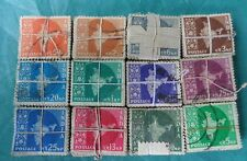 1,200 Pcs LOT ( 12 Bundles) - 12 DIFFERENT * 100 - MAP SERIES Stamp - india