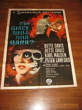 MANIFESTO,Chi giace nella mia bara?,Dead Ringer 1964 BETTE DAVIS,MALDEN,SYMEONI