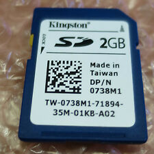 Dell 738m1 da 2GB Secure Digital Card SD CARD 0738m1