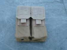 USMC Coyote MOLLE II Double Mag Pouch - very good w/ removed elastic strip