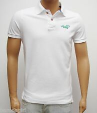 NEW HOLLISTER'S MEN'S PIQUE  POLO 100% AUTHENTIC OR YOUR MONEY BACK: MEDIUM