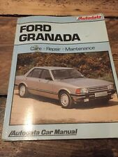 Autodata Renault Ford Granada Manual. Care Repair Maintenance Car