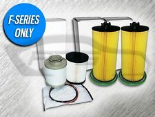 6.4L TURBO DIESEL 2 OIL FILTERS AND 1 FUEL FILTER KIT FOR FORD - AMAZING VALUE