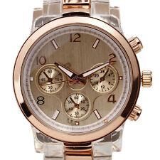 Nuestra principal marca S resina de oro relojes de pulsera de cuarzo de lujo
