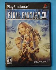 Final Fantasy XII (Sony PlayStation 2, 2006) COMPLETE! Tested, WORKS!