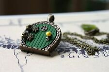 Bag End - Hobbit Door Locket Necklace, LOTR - Handmade