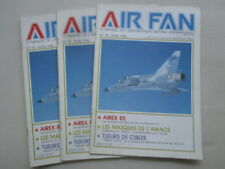 AIR FAN 78 AIREX 85 AWACS WILLIAM TELL TYNDALL ROYAL JORDANIAN AIR FORCE CUTLASS