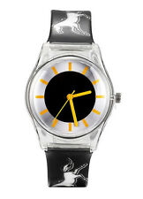 HORSE & WESTERN JEWLLERY JEWELRY GIFTS LADIES GIRLS HORSES CASUAL WATCH BLACK