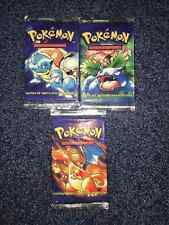 POKEMON Base Set Booster Pack 1st Edition FACTORY SEALED NEW Spanish VERY RARE