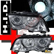 99 00 01 BMW E46 323i 328i 4DR SEDAN PROJECTOR HEADLIGHTS 6000K