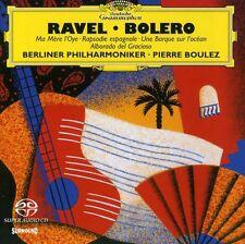 Pierre Boulez, Ravel - Bolero (Hybrid) [New SACD] Hybrid SACD, Multichannel/Ster