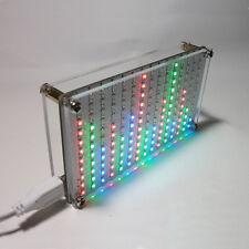 LED Music Spectrum Electronic DIY LED Flash Kit 12*11FFT speaker light gift
