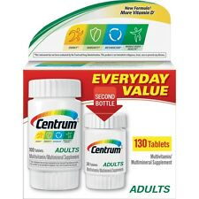 Centrum Adults Under 50 Multi-Vitamin Supplement, 130 Count