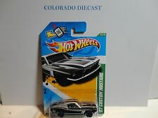 2012 Hot Wheels Treasure Hunt #57 Black '67 Custom Mustang