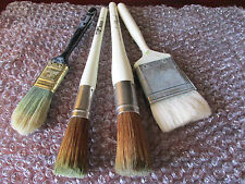 BOB ROSS SET OF 4 x PAINT BRUSHES