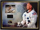Buzz ALDRIN Signed Framed Photomount Display Autograph COA AFTAL Apollo 11 RARE