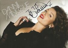 Dannii Minogue Signed 4x6 Photo